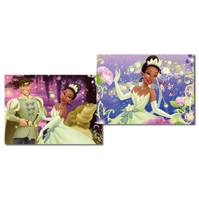 2 Puzzles La Princesse et la Grenouille  20P