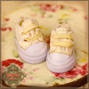 Baskets jaunes en toile pour InMotion Girl
