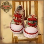 Baskets en toile à motifs rouges pour InMotion Girl