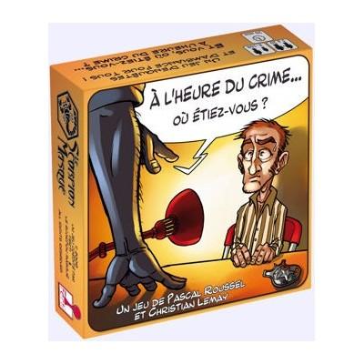 Jeu Société - A l'heure du crime...