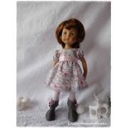 Tenue Flocon Magique pour poupée Boneka