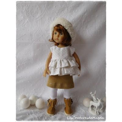 Tenue Brume Hivernale pour poupée Boneka