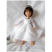 Tenue Petit Ange pour poupée Ten Ping