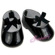 Chaussures Jazz vernies noires