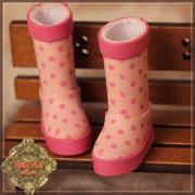 Bottes de Pluie Rose pour InMotion Girl