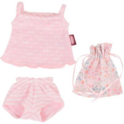 Set de sous-vêtements à petits noeuds pour Poupée 45-50 Cm