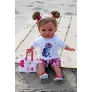 Poupon Marie à la plage Preppy Design