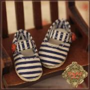 Chaussures Maryjane lignées  pour Yu Ping