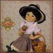 Tenue printanière et son chapeau pour InMotion Girls