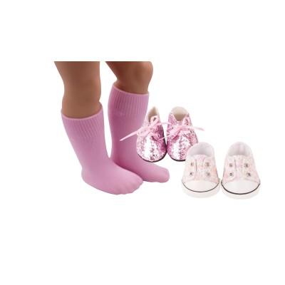 Set Chaussures Lollipop pour poupées 46-50 Cm