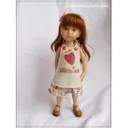 Tenue Alice pour poupée Boneka