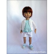 Tenue Ambre pour poupée Boneka