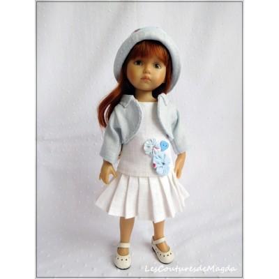 Tenue Elisa pour poupée Boneka