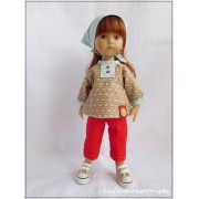 Tenue Louana pour poupée Boneka