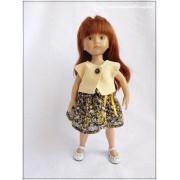 Tenue Nelya pour poupée Boneka
