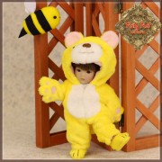 Ensemble Costume Ours Jaune pour Yu Ping