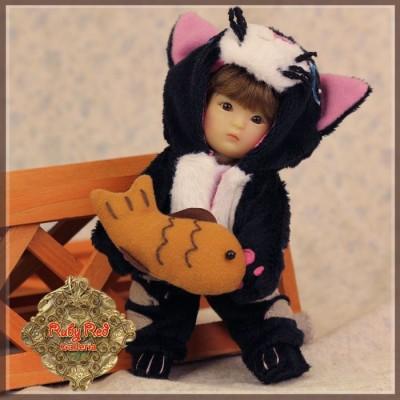 Ensemble Costume Chat Noir pour Yu Ping