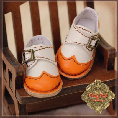Chaussures Cuir bicolores à boucles pour InMotion Girl