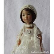Tenue Perce Neige pour poupée Ten Ping