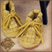 Chaussures cuir jaune à lacets pour InMotion Girl