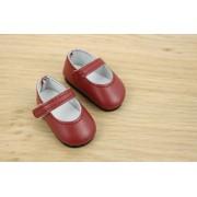 Chaussures Mary Jane marron pour Poupée Gorjuss