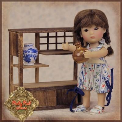 Set Armoire et Vases poupée Rubyred