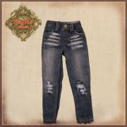 Jeans délavé pour poupée Rubyred 30 Cm