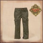 Pantalon kaki à poches pour poupée Rubyred 30 Cm