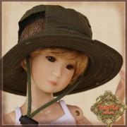 Chapeau Bob pour poupée Rubyred 30 Cm