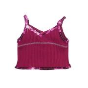 Top violet à fines bretelles-poupee-46-50-cm-sophia's