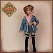 Ensemble Short et Sweat-Shirt pour poupée Rubyred 30 Cm