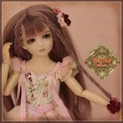 Poupée Lia Fée aux fleurs de Cerisier 30 Cm - Rubyred