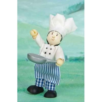 Le Chef cuisinier en bois