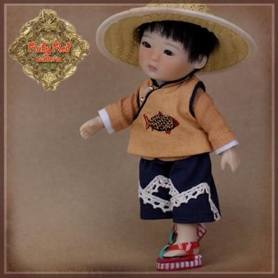 Vêtement de travail pour poupée Shan - Ruby Red