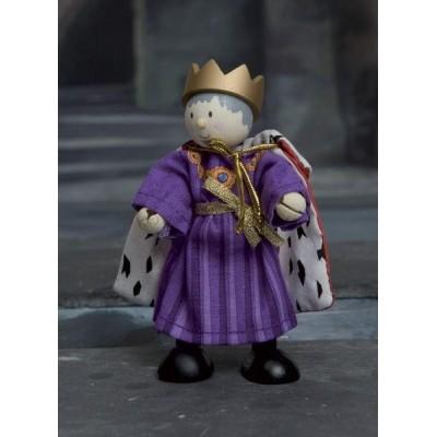Le Roi en bois