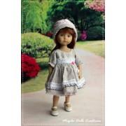 Tenue Fiona pour poupée Boneka - Magda Dolls Creations