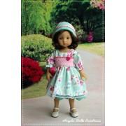 Tenue Lauren pour poupée Boneka - Magda Dolls Creations