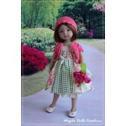 Ensemble Amy pour Poupée Little Darling - Magda Dolls Creations