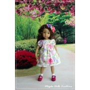 Ensemble Rose pour Poupée Little Darling - Magda Dolls Creations