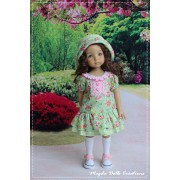 Ensemble Summer pour Poupée Little Darling - Magda Dolls Creations