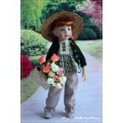 Ensemble Erin pour Poupée Little Darling - Magda dolls créations