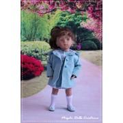 Ensemble Daisy pour Poupée Minouche - Magda Dolls Créations
