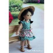 Tenue Amber pour poupée Ten Ping - Magda Dolls Créations