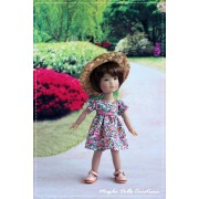 Tenue Molly pour poupée Ten Ping - Magda Dolls Créations