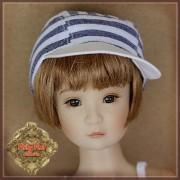 Casquette lignée pour poupée Rubyred 30 Cm