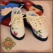 Chaussures crème à lacets pour InMotion Girls 30 cm