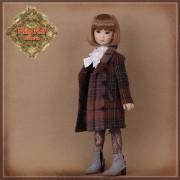 Ensemble Jupe et manteau pour poupée Rubyred 30 Cm