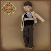 Ensemble Pantalon et veste pour poupée Rubyred 30 Cm
