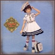 Poupée Yuri uniforme scolaire - Senson Doll 30 Cm