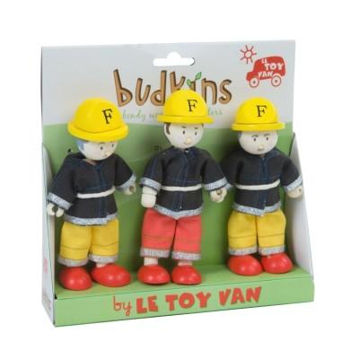 Nos 3 Pompiers en Bois